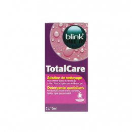 Blink Total care Solution deettoyage - 2x15ml
