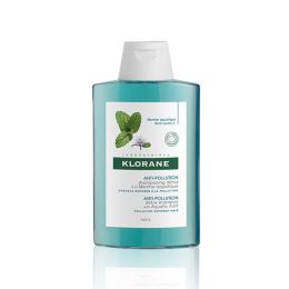Klorane Anti-pollution shampoing détox à la menthe aquatique - 150ml