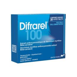 Difrarel 100mg - 60 comprimés