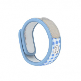 Para'kito Bracelet anti-moustique Graffic bleu clair