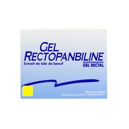 Rectopanbiline gel rectal - 6 doses