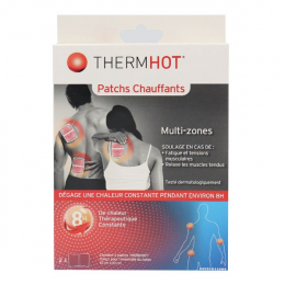 Therm Hot - Patchs chauffants multi-zones - x2