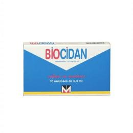 Biocidan Collyre 10 Unidoses/0,4ml