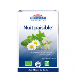Biofloral Infusion Nuit Paisible BIO - 20 sachets