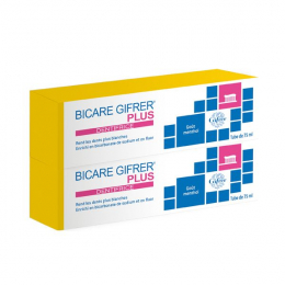 Bicare plus dentifrice - 2x75ml