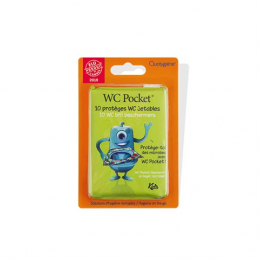WC Pocket Kids Protèges WC jetables - 10 protèges WC