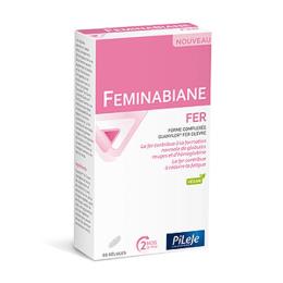 Pileje Feminabiane Fer - 60 gélules
