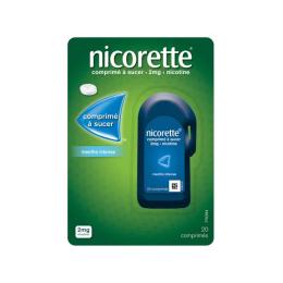 Nicorette Comprimé à sucer 2mg Menthe intense - 20 comprimés