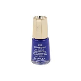 Mavala Mini color Vernis à ongles nacré 343 Blueberry – 5ml