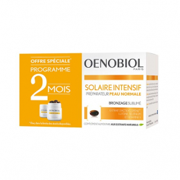 Oenobiol Solaire intensif peau normal - 2x30 capsules