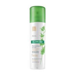 klorane shampooing sec séboregulateur à l'extrait d'ortie - 150ml