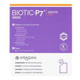 Aragan biotic 7 adulte 14 sachets