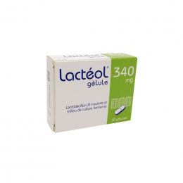 Lactéol 340mg 30 gélules