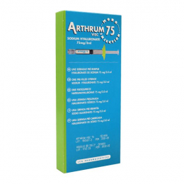 Arthrum Visc 75 sodium hyaluronate – x1