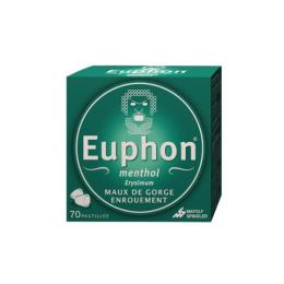 Euphon Pastilles menthol - 70 pastilles