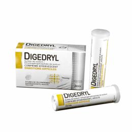 Digedryl digestions difficile - 30 comprimés effervescents