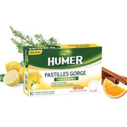 Humer Pastilles gorge - 24 pastilles