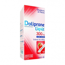 Doliprane liquiz 300mg - 12 Sticks