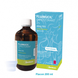 Fluimucil Expectorant 2% enfants - 200ml