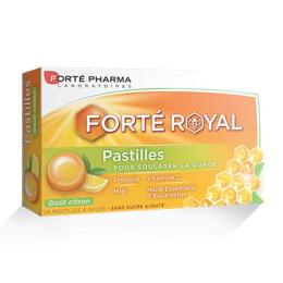 Forte Pharma Forté royal pastilles Citron - 24 pastilles