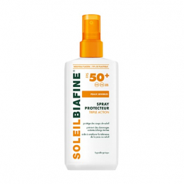 Biafine Soleil Spray protecteur triple action FPS 50+ - 200ml