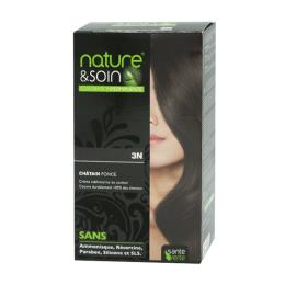 Santé Verte Nature & soin coloration permanente châtain foncé 3N - 129ml