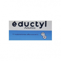 Eductyl - 12 suppositoires