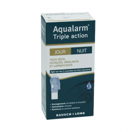 Bausch + Lomb Aqualarm triple action yeux secs - 10ml