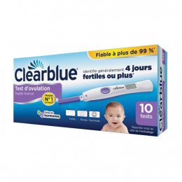 Clearblue Test d'Ovulation Digital Avancé - 10 tests