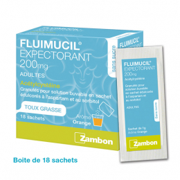 Fluimucil Expectorant 200mg - 18 sachets