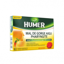 Humer Pharyngite Fruits rouges - 20 pastilles