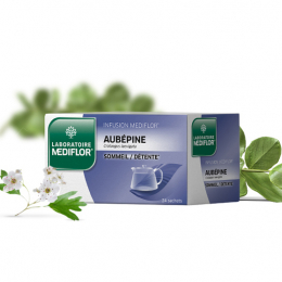 Mediflore Infusion Aubépine - 24 Sachets