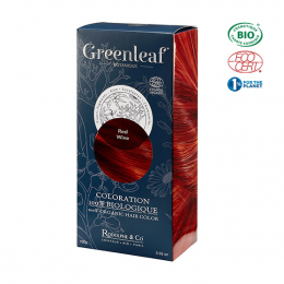 Greenleaf botanique Coloration BIO Redwine (Rouge) - 100g