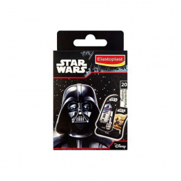 Elastoplast pansements kids disney star wars boite de 20