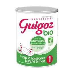 Guigoz Lait 1er âge BIO - 800g