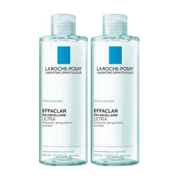 La Roche-Posay Effaclar Eau micellaire ultra - 2x400 ml