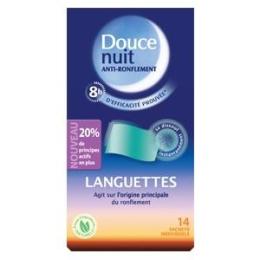 Doucenuit Languettes Anti-Ronflement 14 sachets