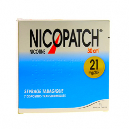 Nicopatch 21mg/24H Dispositif Transdermique - x7 Sachets