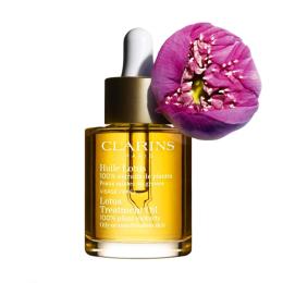 Clarins huile lotus peaux mixtes ou grasses - 100ml