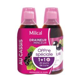 Milical Draineur Casis - 2x500ml