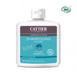 Cattier Shampooing cheveux fins volume BIO - 250 ml