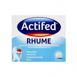 Actifed Rhume - 15 comprimés