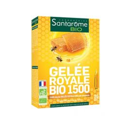 Santarome Gelée royale BIO 1500 - 30 ampoules