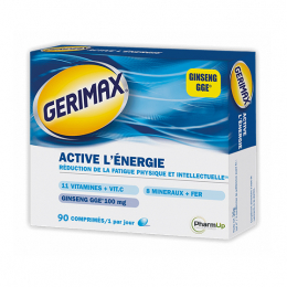 Gerimax Active l'énergie - 90 capsules