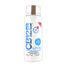 CB12 Bain de Bouche White - 250ml