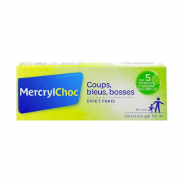 Mercryl choc émulsion en gel - 50g