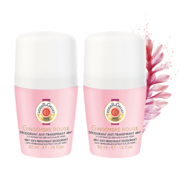 Roger & Gallet Déodorant Gingembre rouge Roll-on - 2x50ml