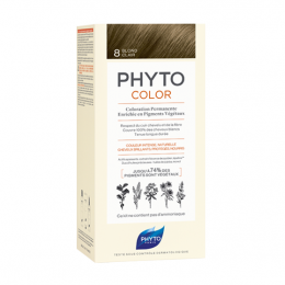 Phyto color Kit de coloration permanente - 8 Blond clair