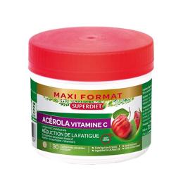 Superdiet Acérola Vitamine C - 90 comprimés
