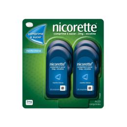 Nicorette Comprimé à sucer 2mg Menthe intense - 80 comprimés